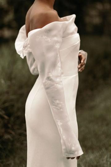 Modern and Fashion Forward 2021 Wedding Dresses by The LAW Bridal – Olsen Detail