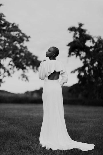 Modern and Fashion Forward 2021 Wedding Dresses by The LAW Bridal – Whitney Back