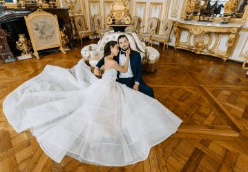 Princess Wedding Inspiration from France – Chateau Chantilly – Elizaveta Photography 4