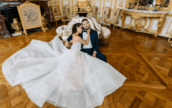 Let's Get Fancy With This Chateau De Chantilly Wedding Inspiration