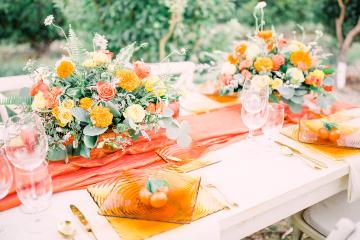 Same Sex Wedding Inspiration with Bright Citrus Decor – Alycia Moore Photography 3