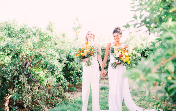 Citrus Fruit Are The Affordable & Beautiful Secret Of Wedding Decor