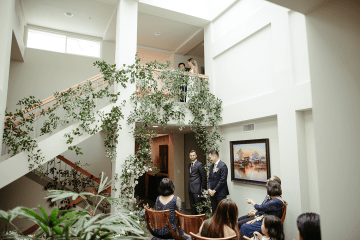 Stunning Intimate Elopement at Home – Gipe Photography 11