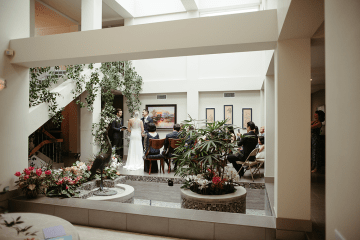 Stunning Intimate Elopement at Home – Gipe Photography 15
