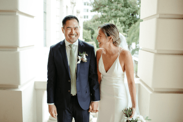 Stunning Intimate Elopement at Home – Gipe Photography 6