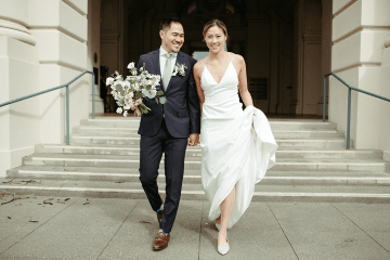 Stunning Intimate Elopement at Home – Gipe Photography 8