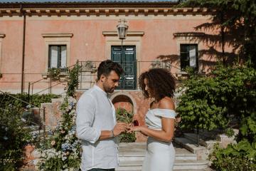 Beautiful Sicilian Wedding Inspiration at Villa di Bella on Mt Etna – Deborah Lo Castro Photography 11
