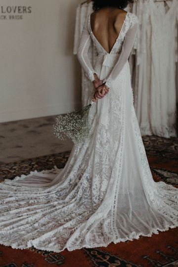 Dreamers and Lovers New Bohemian Wedding Dresses and LA Flagship Bridal Salon – Bridal Musings – Esther Boho Wedding Dress 3