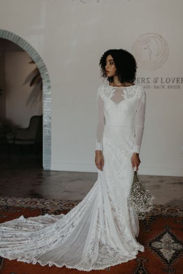 Dreamers and Lovers New Bohemian Wedding Dresses and LA Flagship Bridal Salon – Bridal Musings – Esther Boho Wedding Dress 5