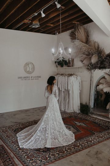 Dreamers and Lovers New Bohemian Wedding Dresses and LA Flagship Bridal Salon – Bridal Musings – Francesca Boho Wedding Dress 1