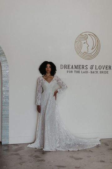 Dreamers and Lovers New Bohemian Wedding Dresses and LA Flagship Bridal Salon – Bridal Musings – Francesca Boho Wedding Dress 2
