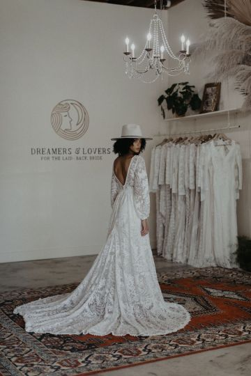 Dreamers and Lovers New Bohemian Wedding Dresses and LA Flagship Bridal Salon – Bridal Musings – Francesca Boho Wedding Dress 4