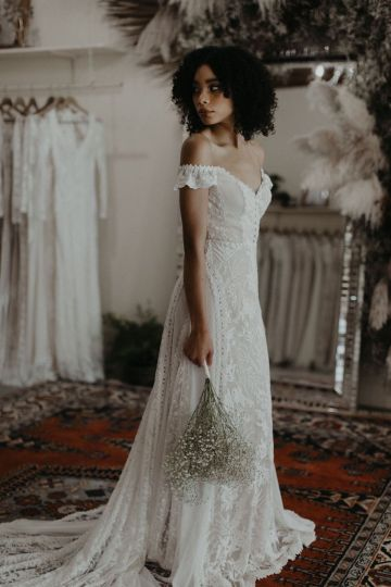 Dreamers and Lovers New Bohemian Wedding Dresses and LA Flagship Bridal Salon – Bridal Musings – Ruth Boho Wedding Dress 5