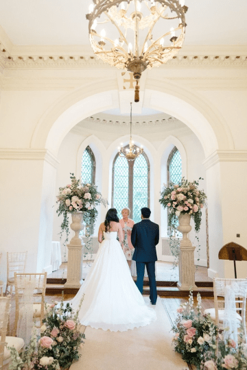 Fairytale Royal English Wedding Inspiration at Clearwater Castle – Sara Cooper Photography – Smitten Weddings 42