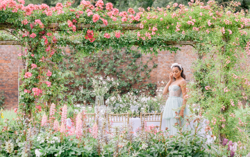 Whimsical & Elegant Secret Garden Wedding Inspiration