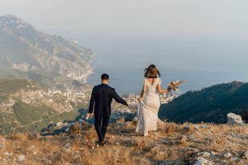 Intimate Cliffside Ravello Italy Microwedding – Enrico Capuano Photographer 14