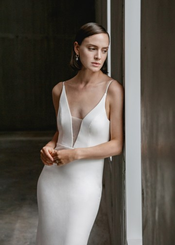 Modern Minimalist 2021 Wedding Dresses by Aesling Bride – Eunoia Dress 3