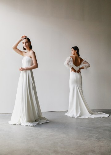 Modern Minimalist 2021 Wedding Dresses by Aesling Bride – Panacea and Sonder Dress