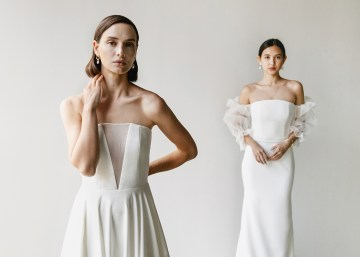 Modern Minimalist 2021 Wedding Dresses by Aesling Bride – Sonder and Panacea Dress