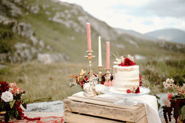 Stunning Scotland Highlands Elopement Inspiration – Alia PAIENDA – E and W Couture 2