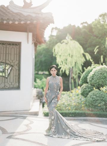 Breathtaking Chinese Qipao Wedding Inspiration from Hong Kong – Angel Cheung Photography 33
