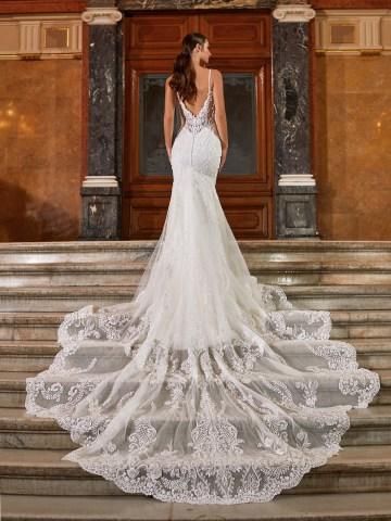 Extravagant Wedding Dresses for 2021 2022 – Val Stefani – Bridal Musings – D8271 B