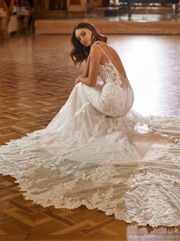 Extravagant Wedding Dresses for 2021 2022 – Val Stefani – Bridal Musings – D8274 C