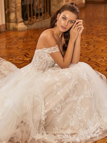 Extravagant Wedding Dresses for 2021 2022 – Val Stefani – Bridal Musings – D8278 C