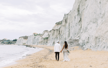 Stunning & Intimate Greek Micro Wedding