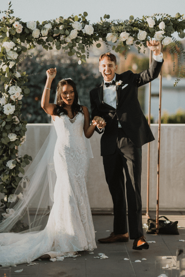 Modern Hollywood Rooftop Elopement During COVID-19 – Julia Green Photography 22