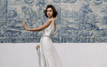 Sexy Silk Wedding Dresses For The Cool Bride