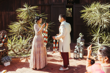 Rustic Indian Micro Wedding – Stonehurt Wedding Venue – Leilani Weddings – West Imagery Photography – PrettyParty Floral 6