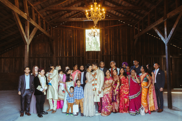 Rustic Indian Micro Wedding – Stonehurt Wedding Venue – Leilani Weddings – West Imagery Photography – PrettyParty Floral 7