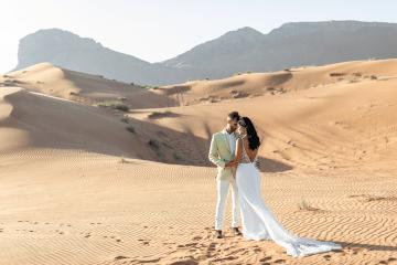 Chic Elopement in the Arabian Desert – Effleurer Photo 5