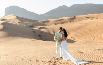 These Dreamy Sand Dunes May Be The Next Desert Wedding Destination