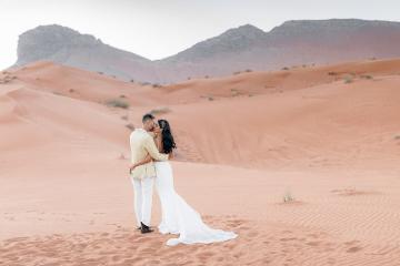 Chic Elopement in the Arabian Desert – Effleurer Photo 8