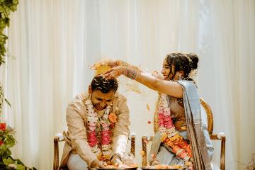 Intimate Backyard Indian Wedding – Carmelisse Photography – Leilani Weddings 6