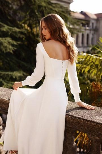 Ultra-Stylish New Wedding Dresses By Mila Bridal (For Under 1000) – Bella Dress – Bridal Musings 3