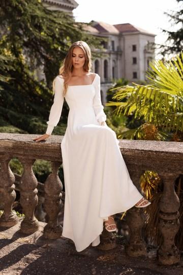 Ultra-Stylish New Wedding Dresses By Mila Bridal (For Under 1000) – Bella Dress – Bridal Musings 4