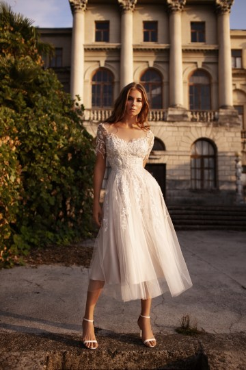 Ultra-Stylish New Wedding Dresses By Mila Bridal (For Under 1000) – Goldie Dress – Bridal Musings 3