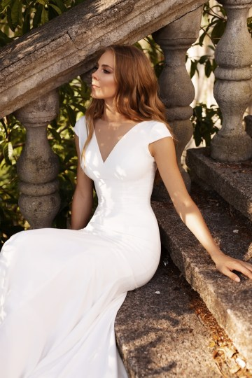 Ultra-Stylish New Wedding Dresses By Mila Bridal (For Under 1000) – Jenny Dress – Bridal Musings 1