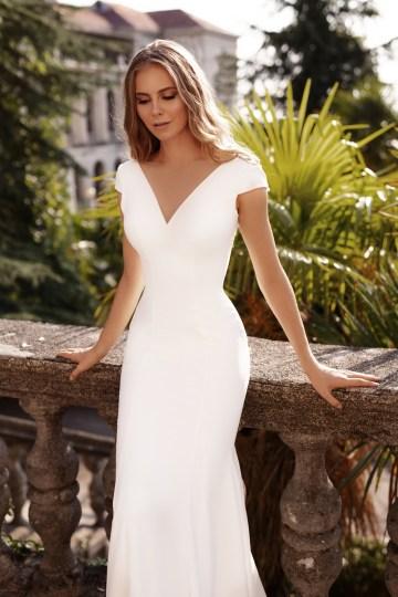 Ultra-Stylish New Wedding Dresses By Mila Bridal (For Under 1000) – Jenny Dress – Bridal Musings 3