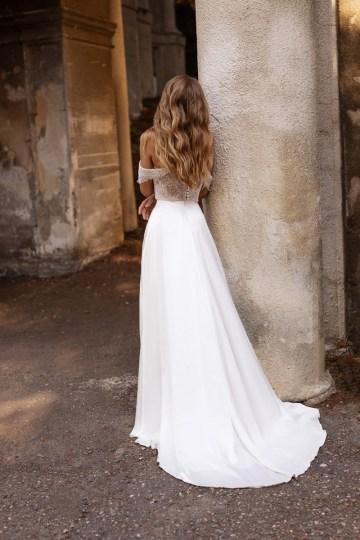Ultra-Stylish New Wedding Dresses By Mila Bridal (For Under 1000) – Lola Dress – Bridal Musings 1