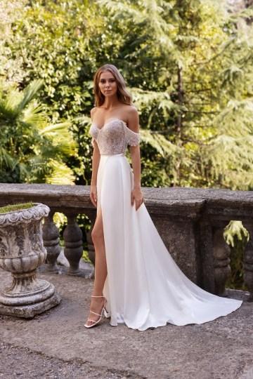 Ultra-Stylish New Wedding Dresses By Mila Bridal (For Under 1000) – Lola Dress – Bridal Musings 4
