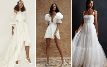 Our Editors Reveal Their Favorite Wedding Dresses Right Now