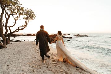 Korean Hawaiian Elopement with a Traditional Ceremony – Alyssa Luzaich Photography – Kukio Beach – Bridal Musings 11