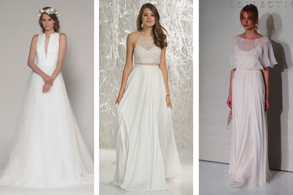 Top Wedding Dress Trends At New York Bridal Fashion Week
