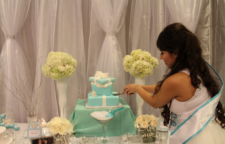 57 bridal shower cake