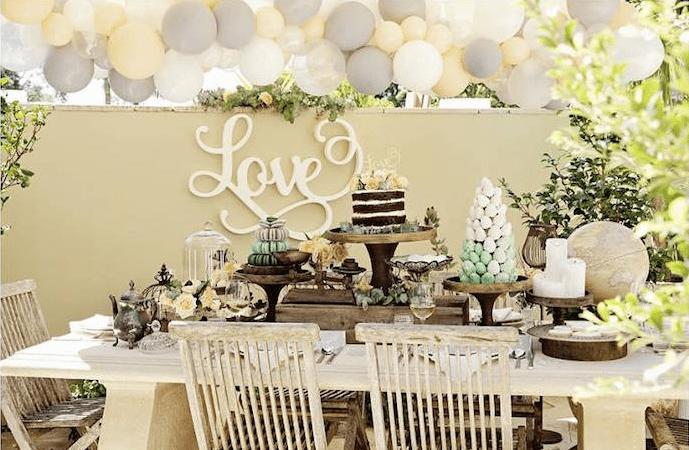 Rustic Bridal Shower Decorations 62 Off Tajpalace Net