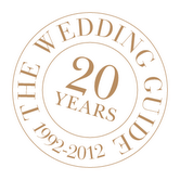 20th year anniversary seal - theweddingguide.ca